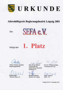Altershilfepreis 2001