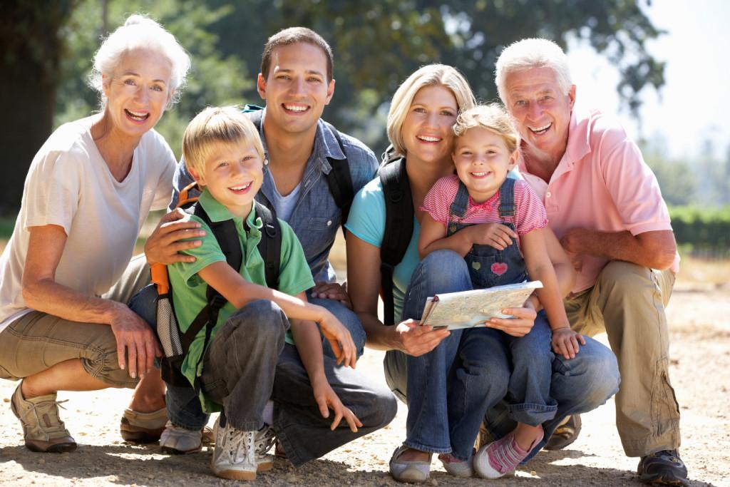 Großeltern kennenlernen